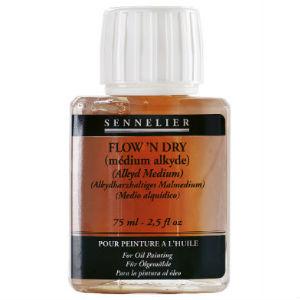 Médium Alkyde Flow'n Dry Sennelier