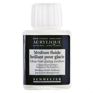 Médium fluide brillant pour glacis Sennelier