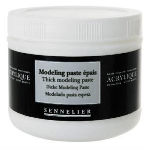 Modeling Paste Epais Sennelier