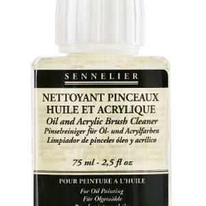 Nettoyant pinceaux huile et acrylique Sennelier