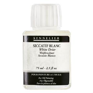 Siccatif blanc 75 ml Sennelier
