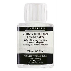 Vernis brillant à tableaux 75 ml Sennelier