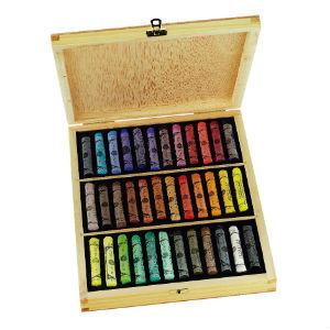 Coffret bois 36 pastels à l'écu Sennelier
