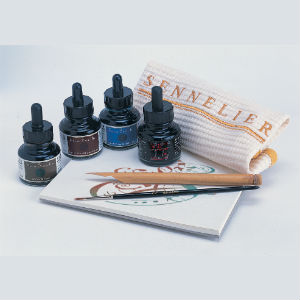 set calligraphie Sennelier