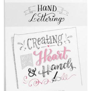 Papier Hand Lettering Hahnemühle