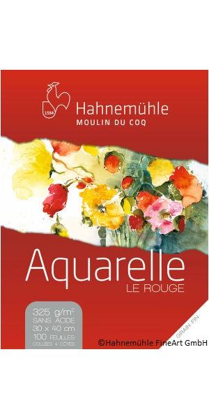 Papier Aquarelle Le Rouge