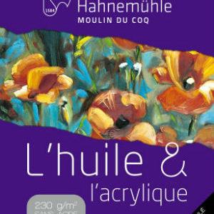 Papier Huile et Acrylique Hahnemühle