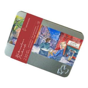 Cartes postales Aquarelle Hahnemühle