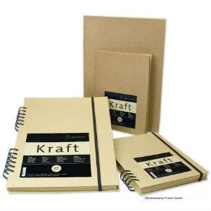 Carnet papier Kraft Hahnemühle
