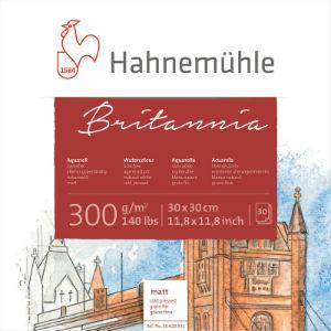 Papier Aquarelle Britannia Grain Fin Hahnemühle