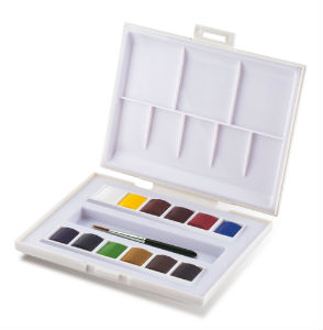 Boîte de 12 Demi-Godets Aquarelle Sennelier