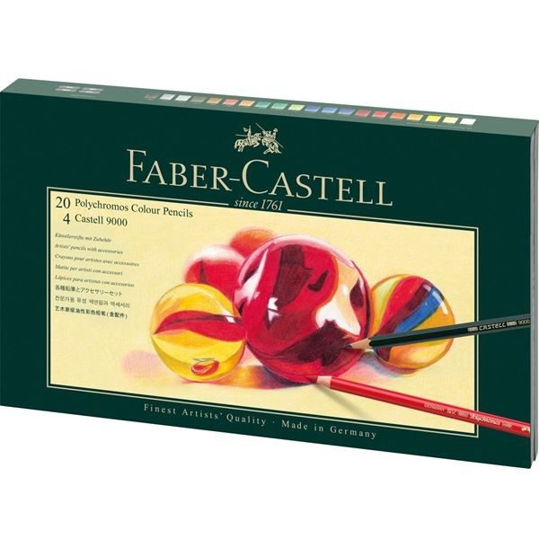 Coffret 27 crayons Faber-Castell