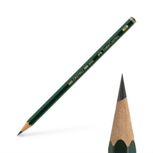 Crayon Graphite Castell 9000