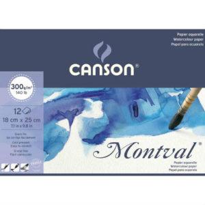 Papier Aquarelle Montval Canson