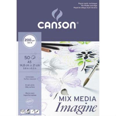 BLOC MIX MEDIA IMAGINE CANSON