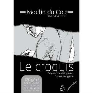 Bloc Le Croquis Hahnemühle