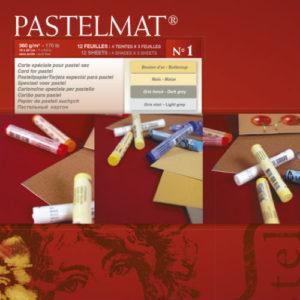 Bloc Pastelmat 1 Clairefontaine