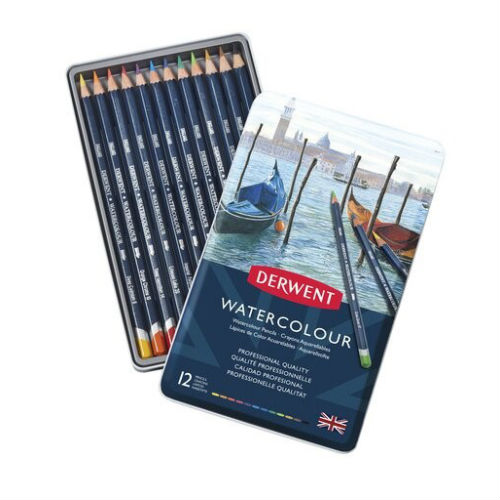 Boîte Crayons Aquarelle Derwent