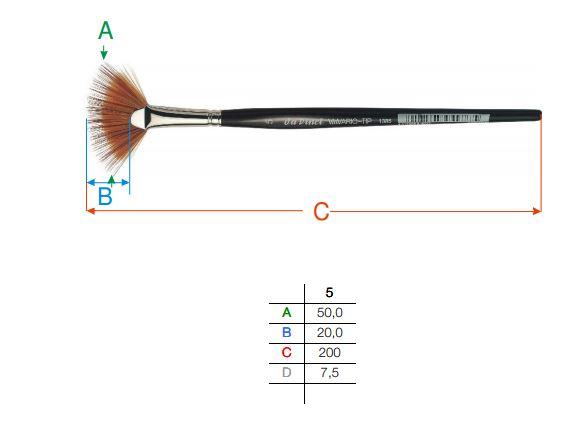 Pinceau Vario Tip Série 1385