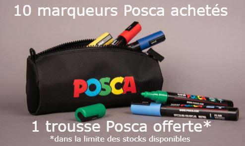 Offre Trousse Posca