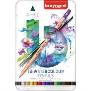 Crayon Aquarelle Expression Bruynzeel
